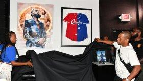 Nipsey Hussle Exhibit Unveiling