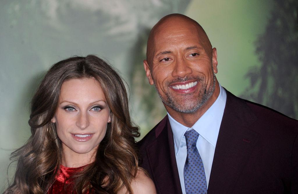 The Rock Marries Long-Time Girlfriend Laura Hashian