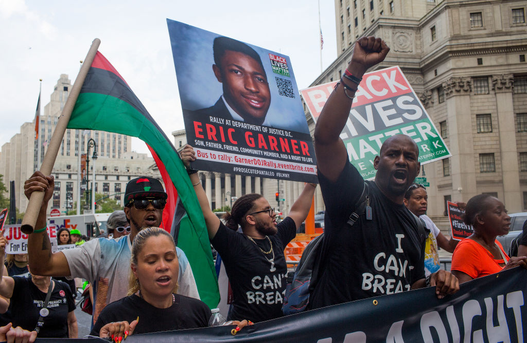 Eric Garner demonstrations mark the 5th anniversary of his death