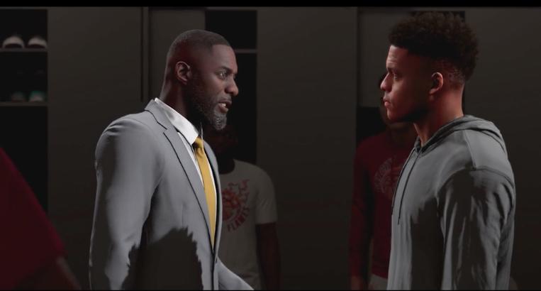 Idris Elba, Rosario Dawson & More Star In 'NBA 2K20' MyCareer Mode