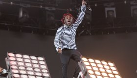 Lil Uzi Vert seen performing at Coachella weekend 2 Day 3