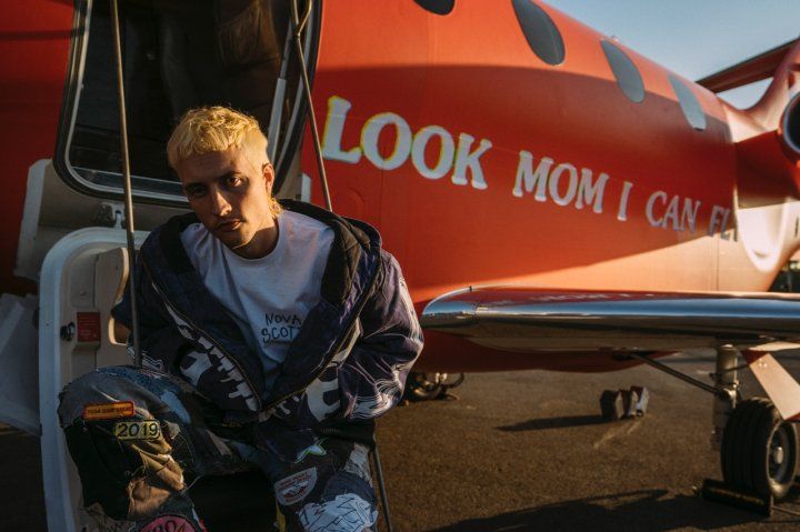 TRAVIS SCOTT: LOOK MOM I CAN FLY at the Barker Hangar in Santa Monica