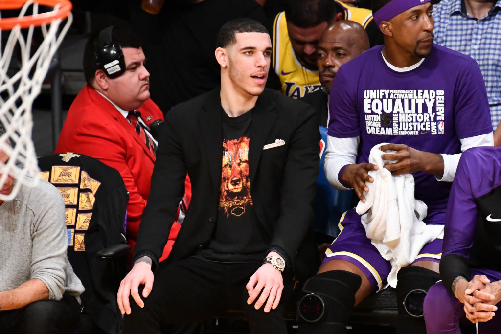 """Lonzo Ball Allegedly Disses Lakers On New Song """"Last Days"""""""