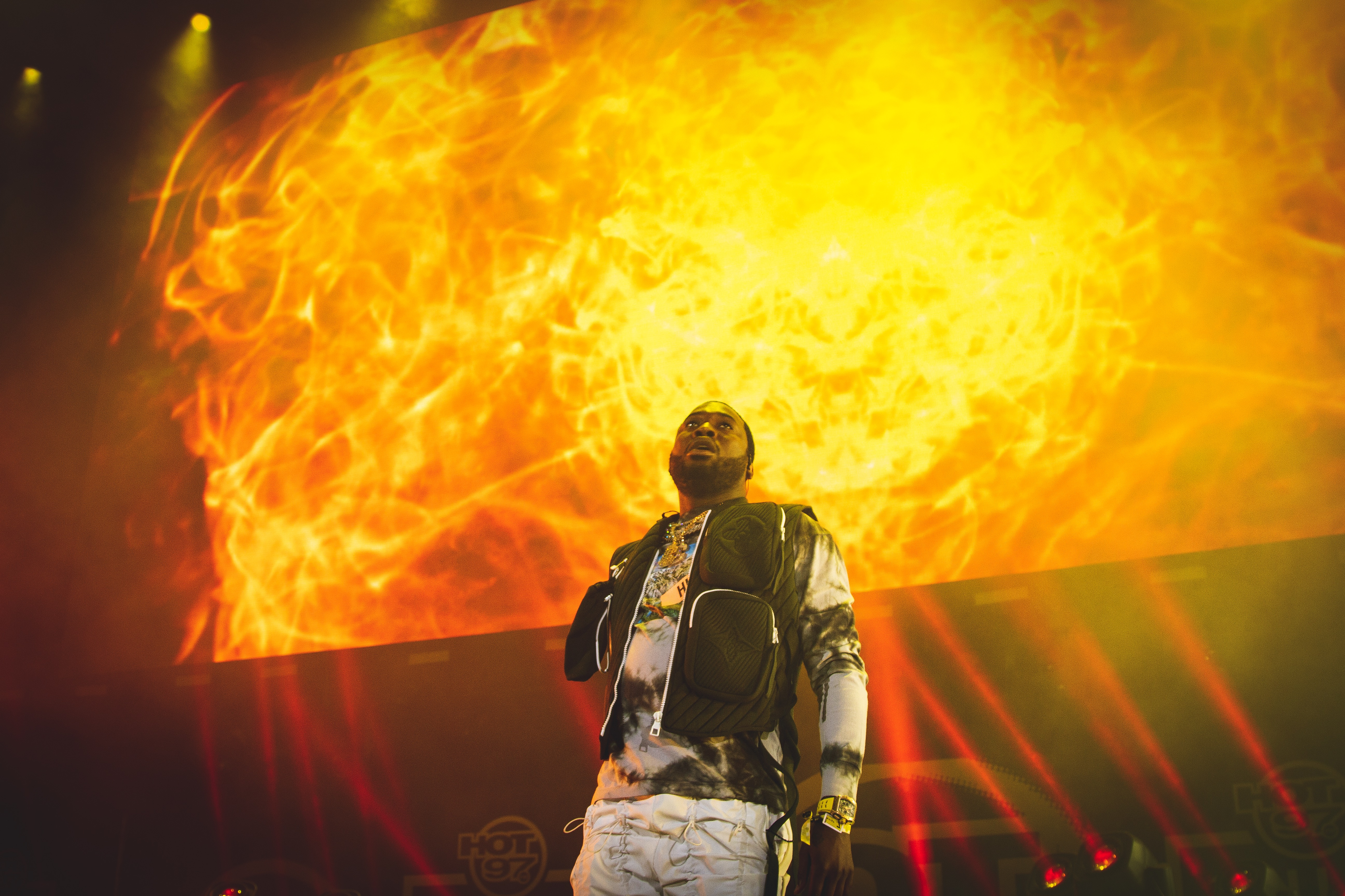 The FCC Had A Hard Time Censoring Meek Mill's NFL Kickoff Performance