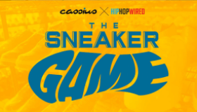 The Sneaker Game Title Card
