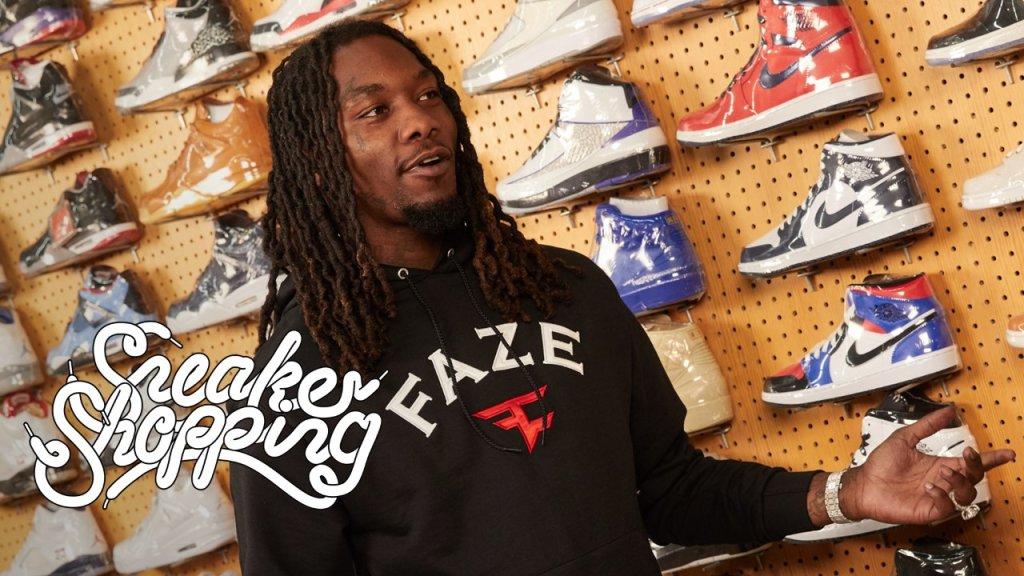 Offset Sneaker Shopping