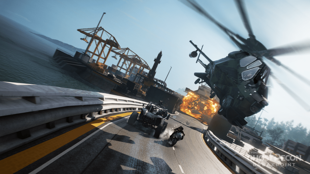 Ghost Recon Breakpoint Preview Assets