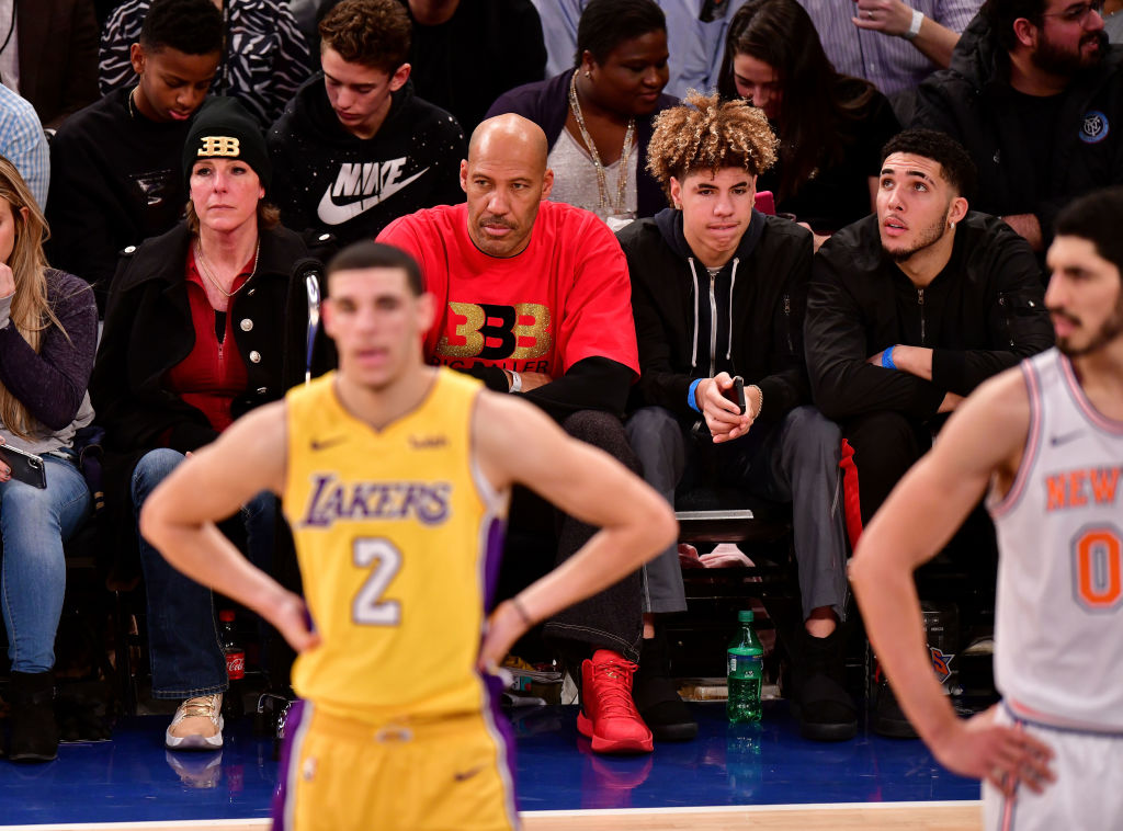 "LaVar Ball Calls Lonzo Ball ""Damaged Goods"" During Argument"