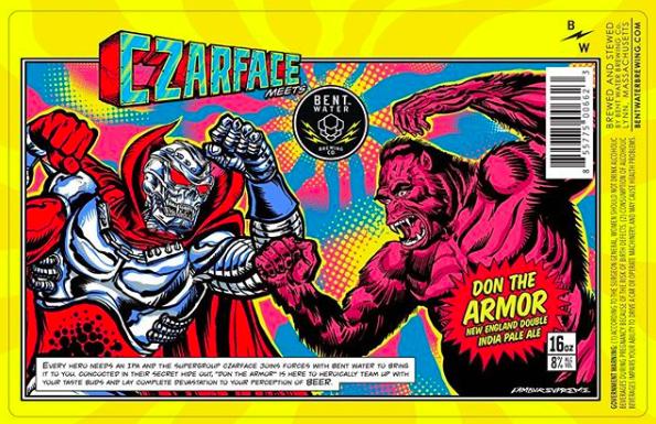 Czarface x Bent Water Brewing x Don The Armor