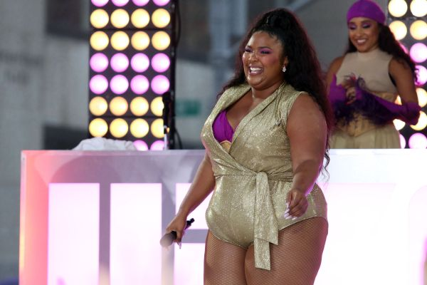 """Singer LIZZO Performs Live on NBC's """"TODAY""""nRockefeller PlazanNew York, NYnAugust 23, 2019"""