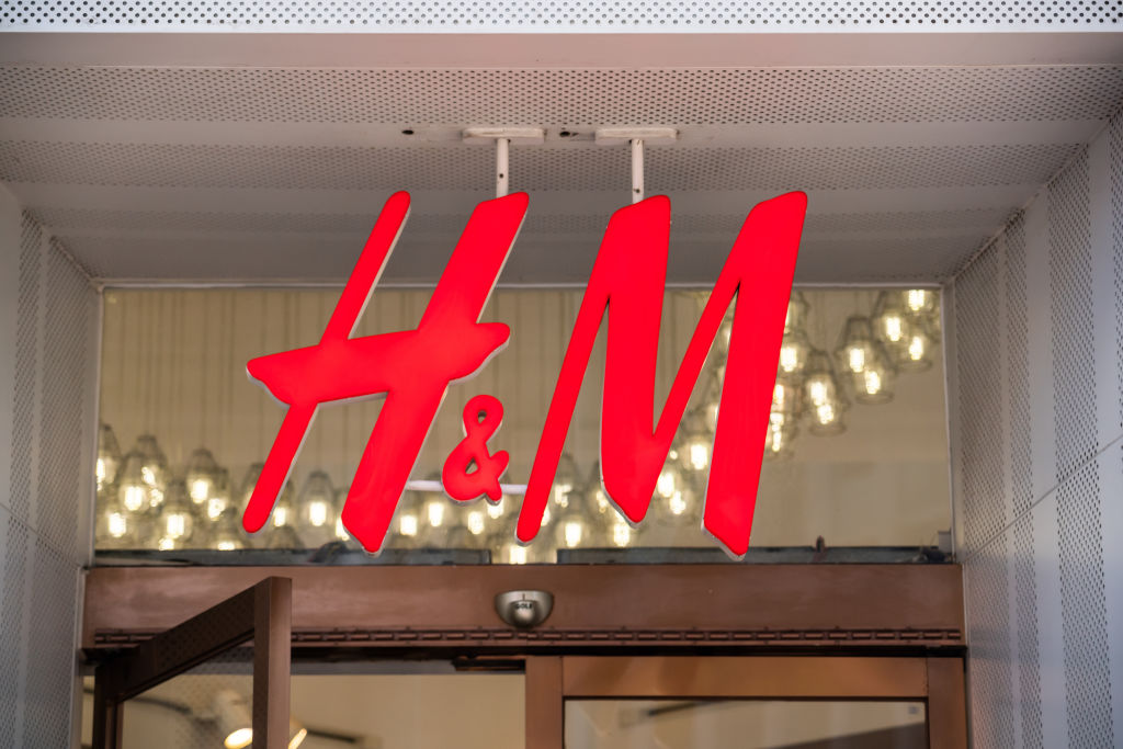 Hennes & Mauritz, or H&M, store in Shanghai. A Swedish...
