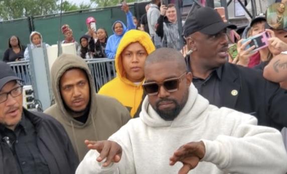 Kanye West Sunday Service Chicago