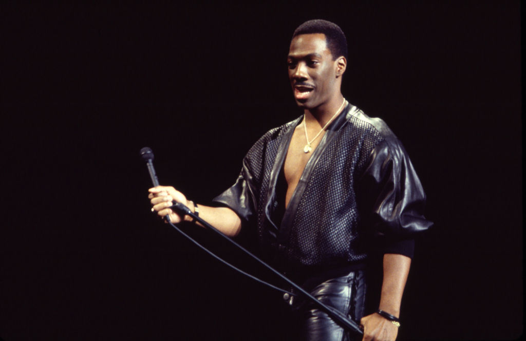 Eddie Murphy On Stage At MSG