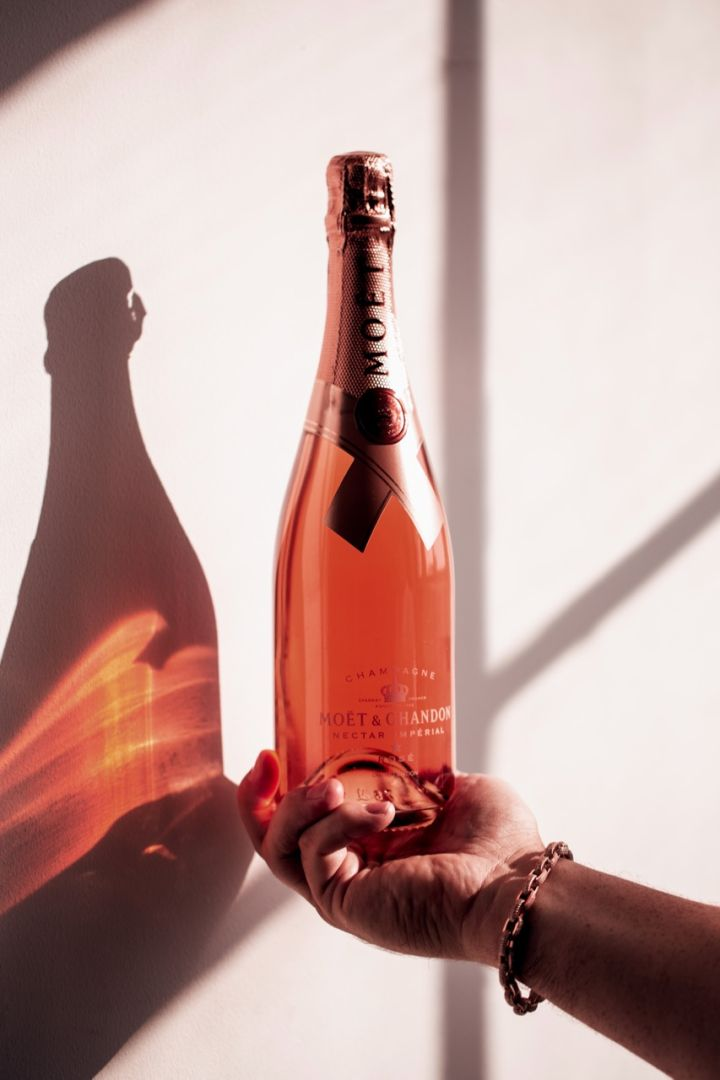 Moët & Chandon Launches New Campaign/Bottle w/ Jonathan Mannion