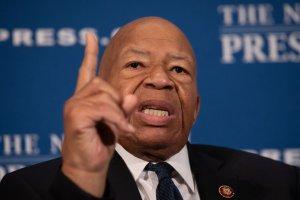 Rep. Elijah Cummings Speaks At National Press Club Headliners Luncheon