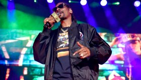 Snoop Dogg And Ice Cube Perform At Toyota Amphitheatre