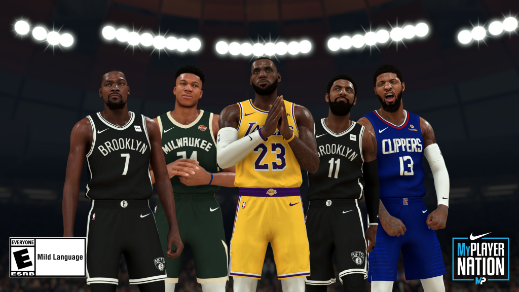 Nike x NBA 2K20's GE Program Continues With 4 More Sneaker Drops
