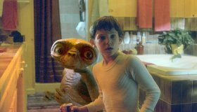 On the set of E.T. the Extra-Terrestrial