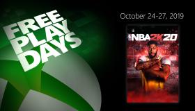 NBA 2K20 Free Play Days
