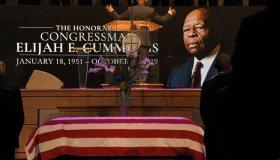 Mourners Attend Funeral Of Rep. Elijah Cummings In Baltimore