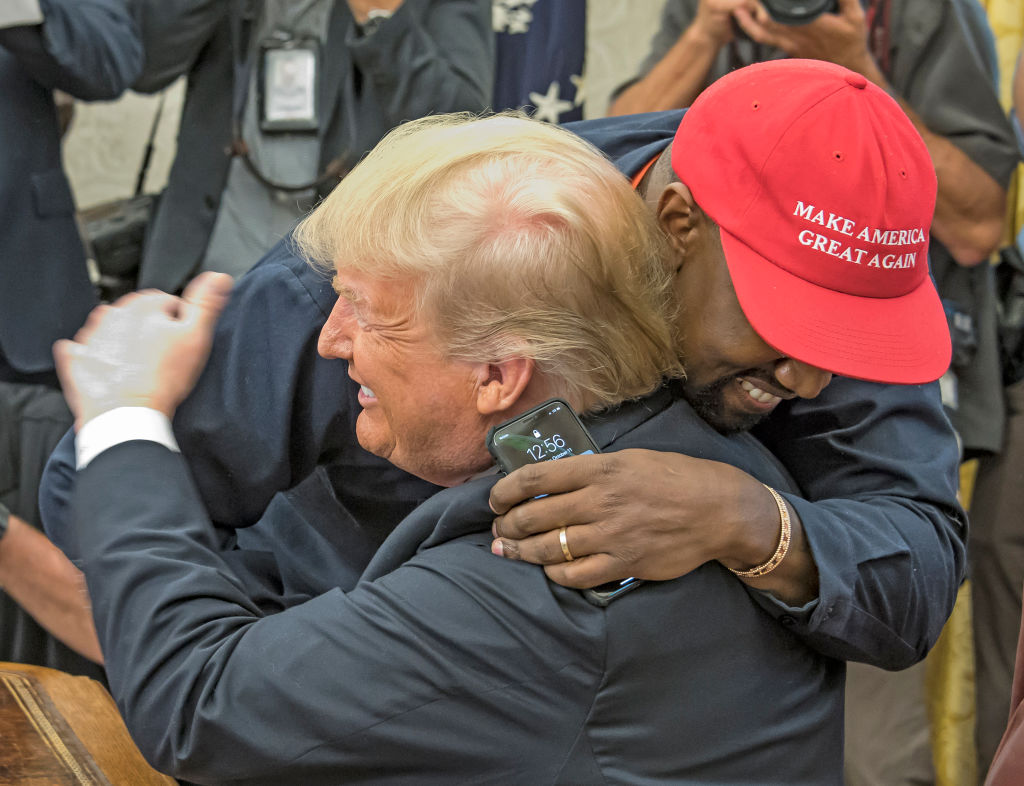 West & Trump In The White House
