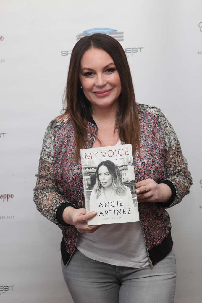 Angie Martinez Signs Copies Of Her New Book 'My Voice'