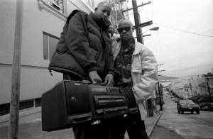 Gang Starr Guru DJ Premier San Fransisco 1991