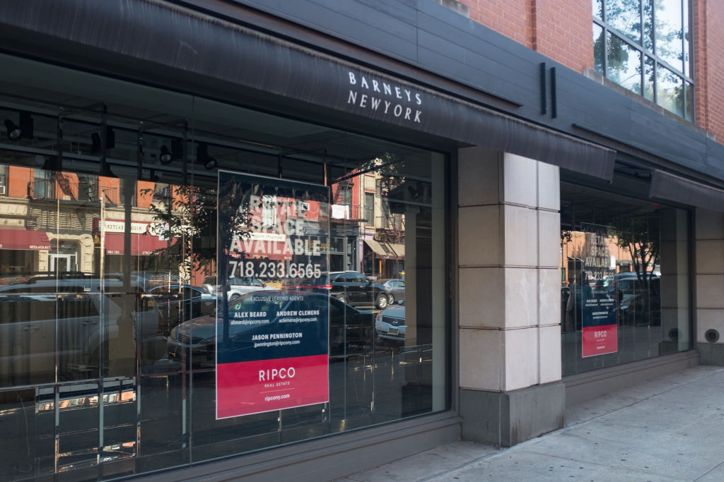 Barneys Store Space For Rent