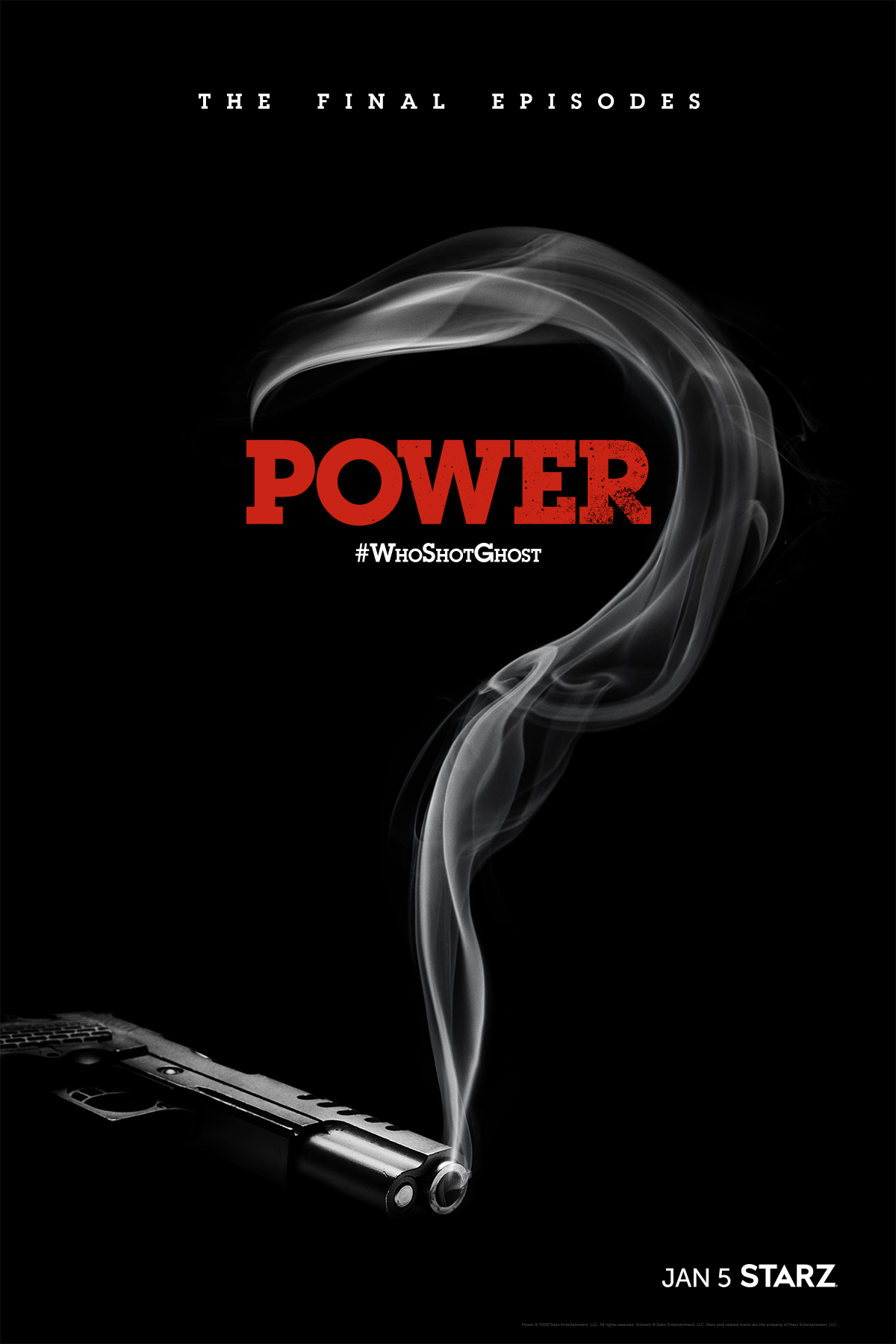 Power Season 6, Who Shot Ghost Poster