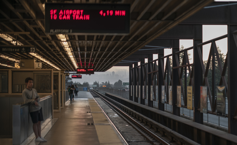 Rockridge, Oakland BART Station