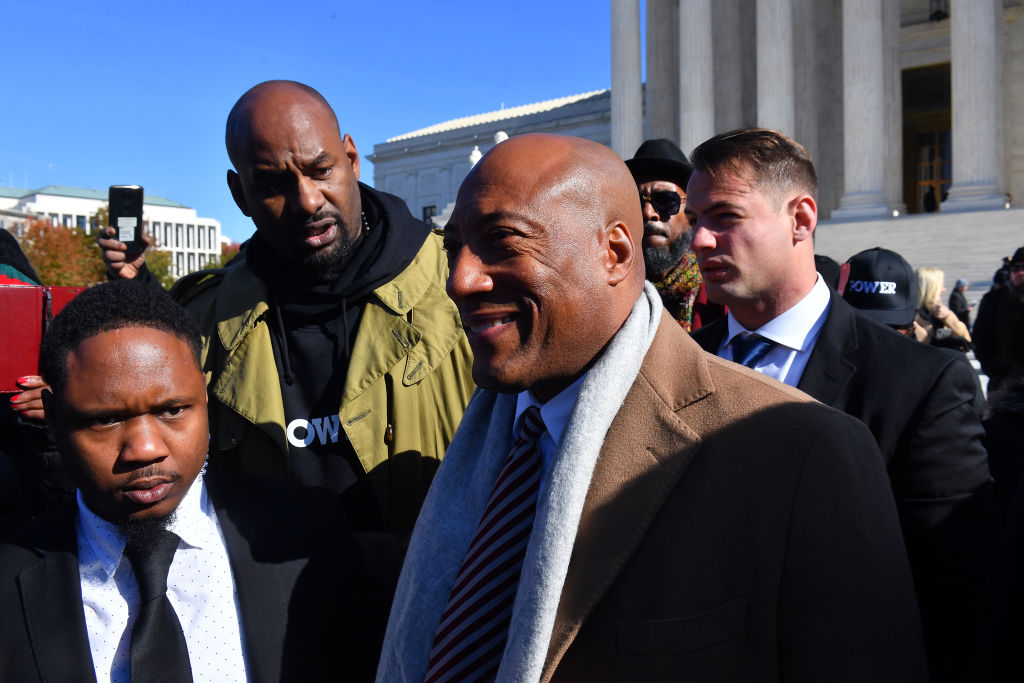 Byron Allen (Founder, Chairman & CEO, Entertainment Studios) At Supreme Court Hearing In Racial Discrimination Suit Against Comcast