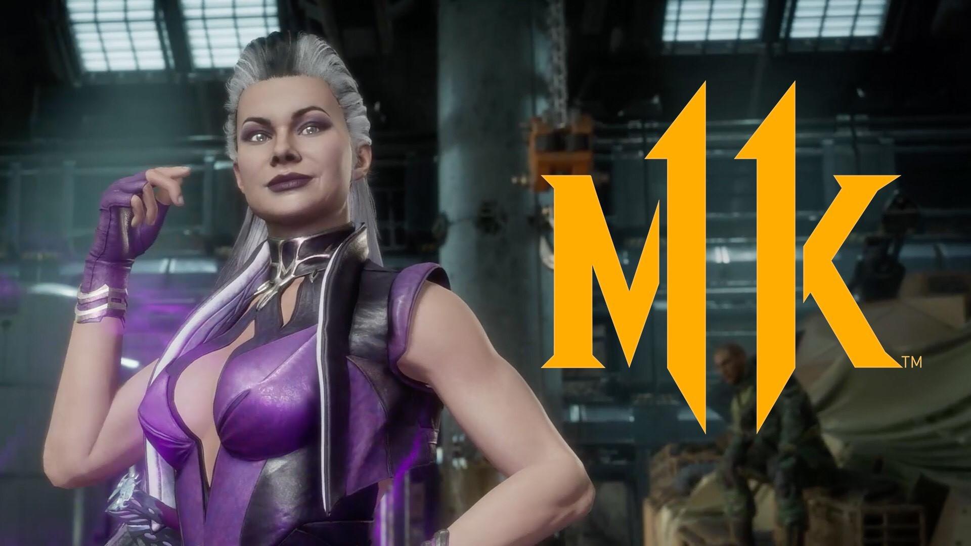 Mortal Kombat 11 Sindel Trailer