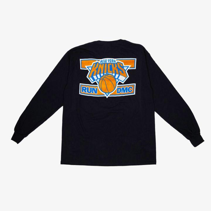 Long Sleeve - Run-DMC x NY Knicks merch