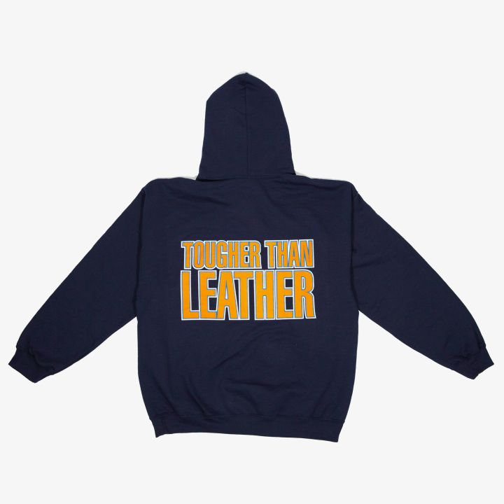 Tougher Than Leather Jacket - Run-DMC x NY Knicks merch