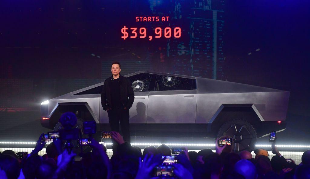 """The Internet Clowns Elon Musk's New """"Cybertruck"""" Design"""
