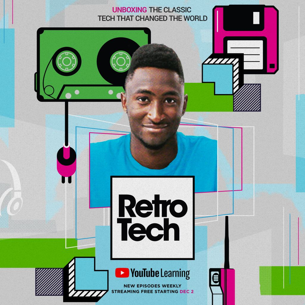 YouTube Drops First Trailer For New Learning Series Retro Tech