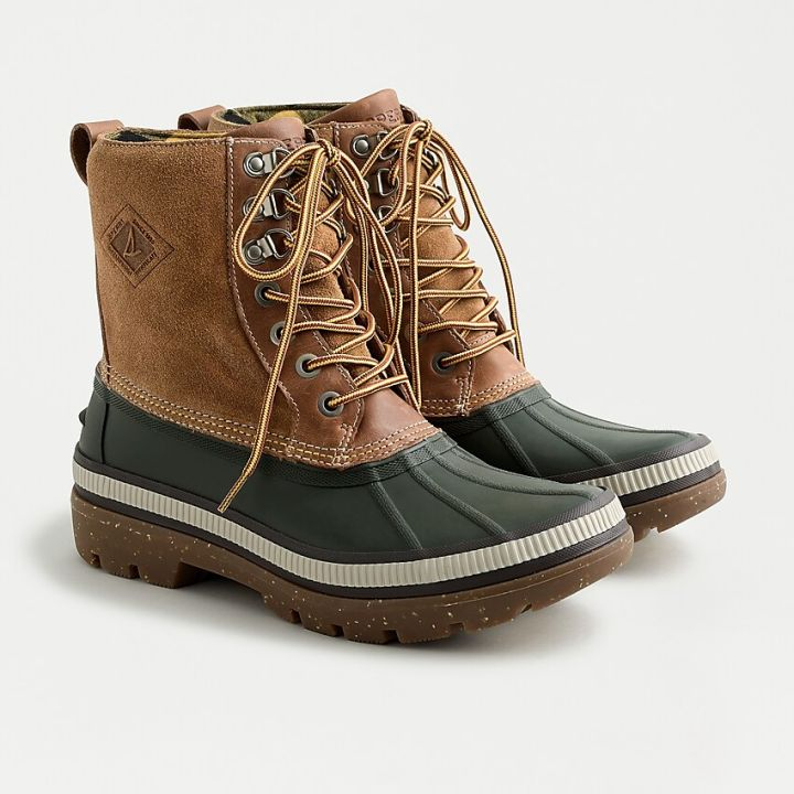 J. CREW Sperry® Ice Bay boots