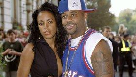 R&B singer Aaliyah and hip-hop mogul Damon Dash are on hand