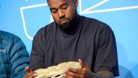 Kanye West Talks Yeezy in NYC