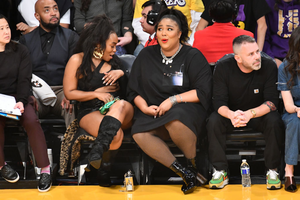 Lizzo S Bare Bottom Nba Game Outfit Has Twitter In An Uproar The Latest Hip Hop News Music And Media Hip Hop Wired
