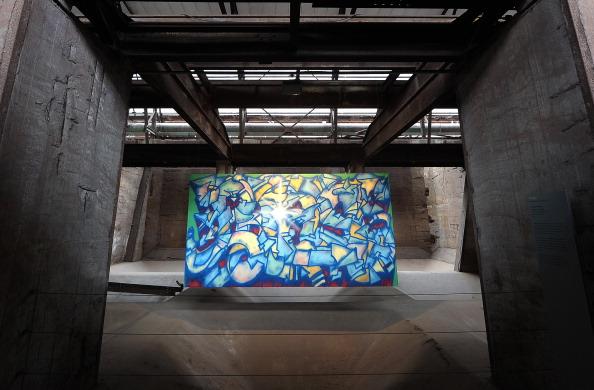 GERMANY-UNESCO-HERITAGE-URBAN ART BIENNALE