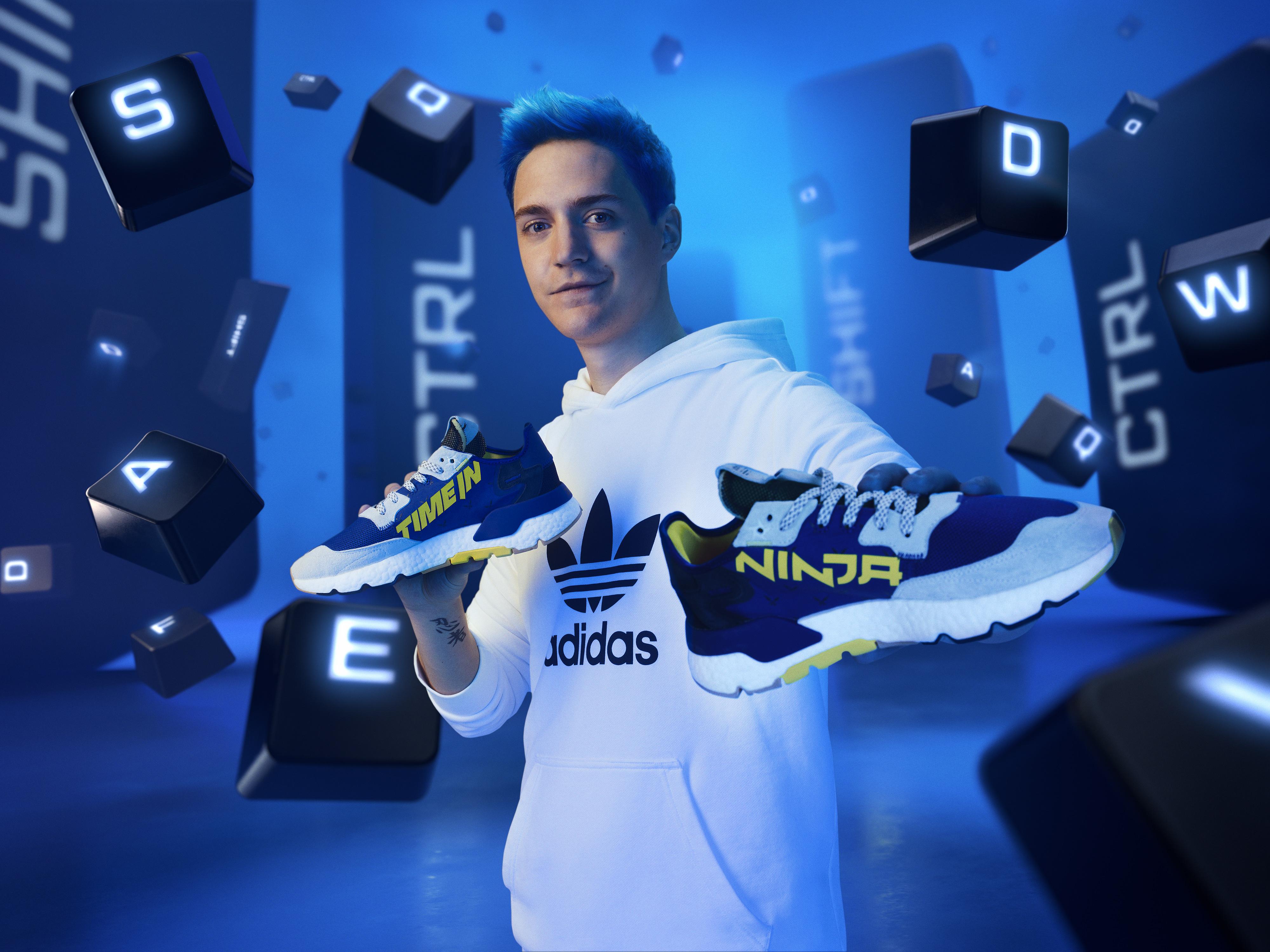 adidas x Ninja 'Time In' Nite Jogger