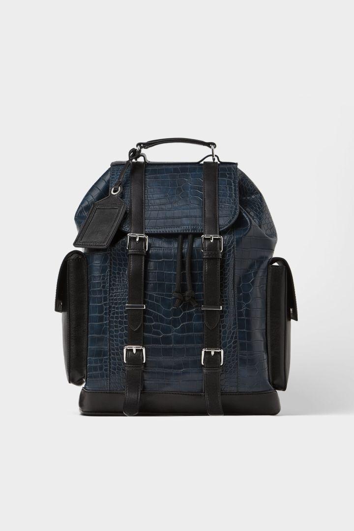Zara Animal Embossed Backpack