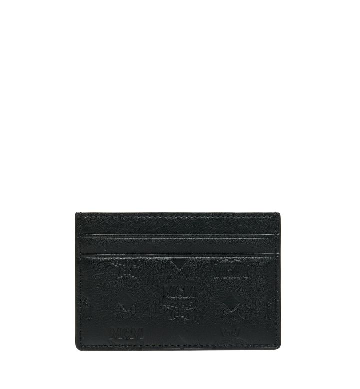 MCM Monogram Leather Wallet