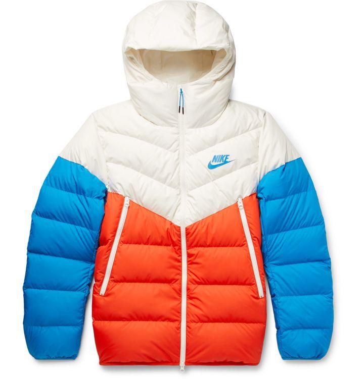 Nike Shell Down Hooded Jacket