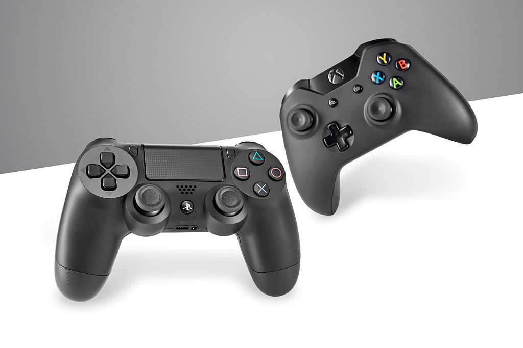 Video Game Consoles Hardware Shoot