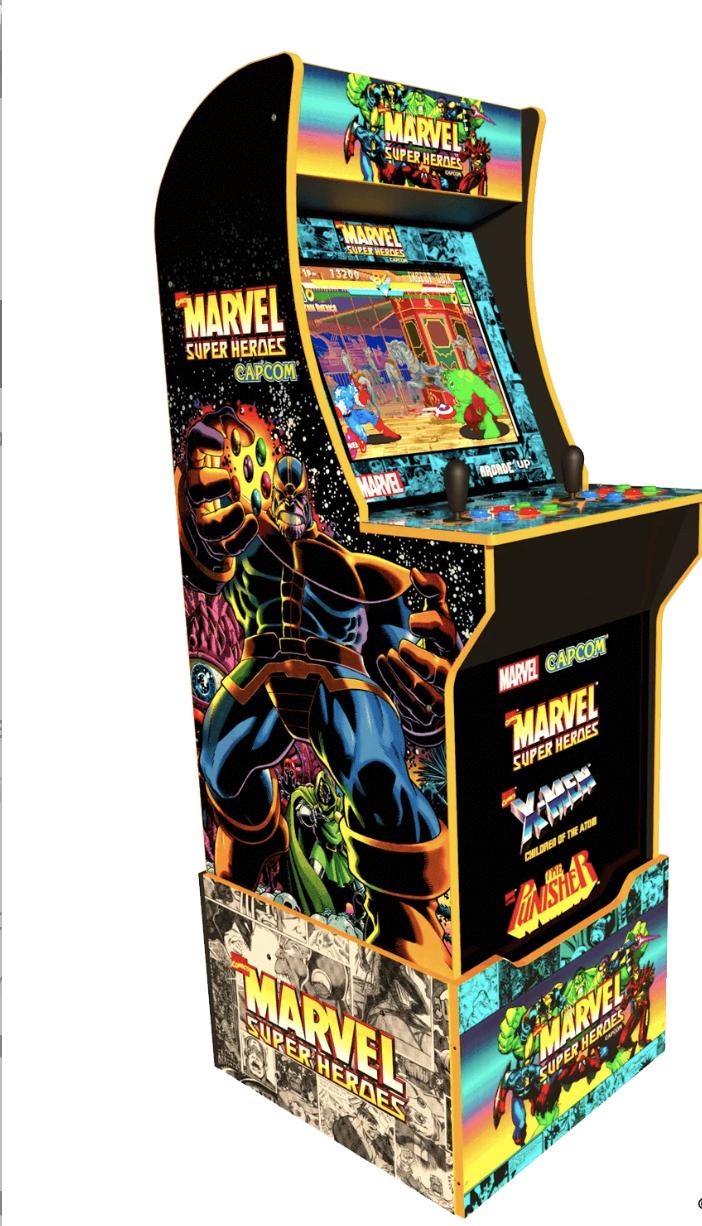 MARVEL SUPER HEROES ARCADE CABINET - SPECIAL EDITION