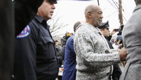 Bill Cosby leaves the Court House in Elkins Park
