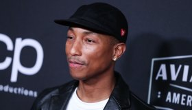 Singer Pharrell Williams arrives at the 23rd Annual Hollywood Film Awards held at The Beverly Hilton Hotel on November 3, 2019 in Beverly Hills, Los Angeles, California, United States.