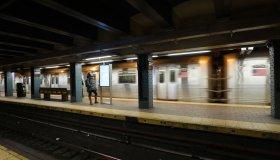 1 Train in the New York City Subway